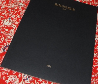 Bucherer brochure - cover Gmund Blue 300g